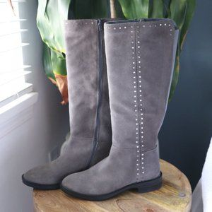 Steve Madden Zoe Suede Riding Boots
